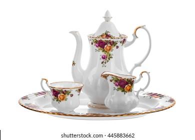 ware set from porcelain