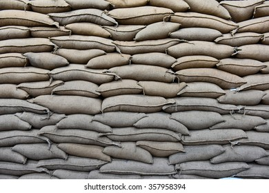 A warehouse of bags full of delicious, delicious coffee