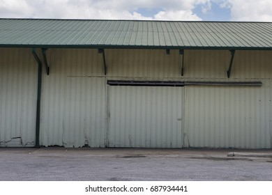 warehouse building background