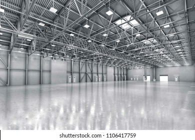 Warehouse Ceiling Light Industrial panel Bulbs  Concept