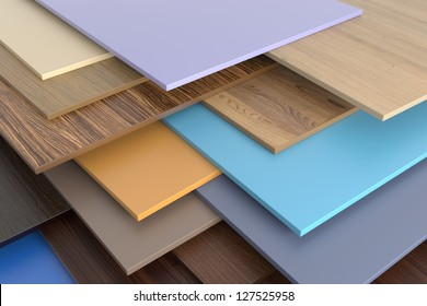 Warehouse chipboard.