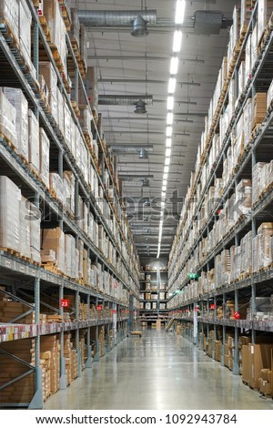 Warehouse And Distribution Center With A Lot Of Stock Promptly Furniture Home Decoration On