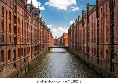 Warehouse district of Hamburg (Speicherstadt)