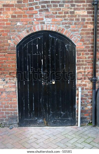 Warehouse Door, 18c, Poole, Dorset