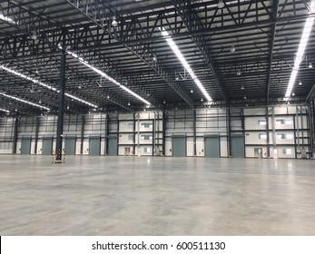 Warehouse doors for loading and unloading of cargo in freight. Warehouse doors that can be spread goods by transporting around the world.