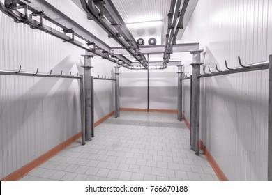 Warehouse freezer, Cold storage.