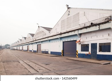 Warehouse Godown of Wood