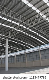 warehouse installed translucent roof