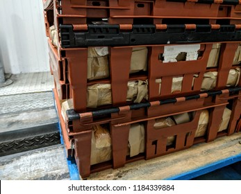 Warehouse interior - containers