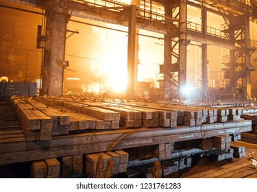 Warehouse metal blank. Electroplating plant for the metal.