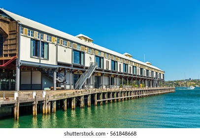 Warehouse offices on the waterfront of Dawes Point in Sydney, Australia