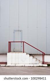 Warehouse storage door