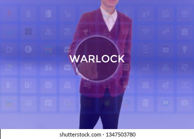 WARLOCK - technology and business concept