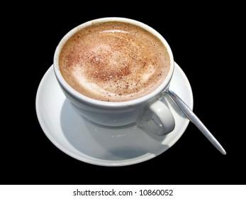 a warm drink