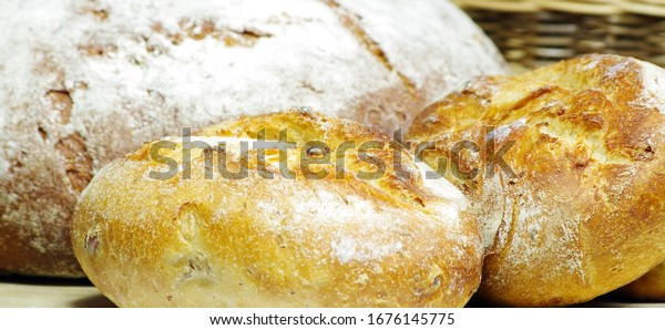Warm fresh bread from the local bakery