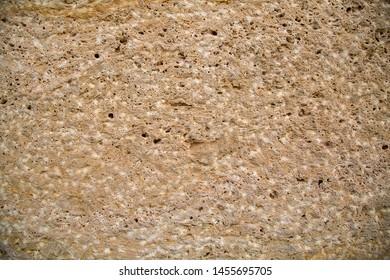 Warm limestone texture - Sandstone background - Flagstone