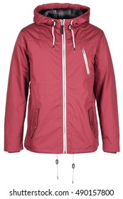 Warm pink jacket