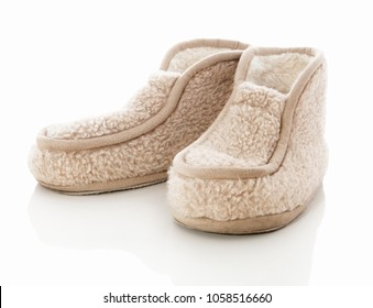 Warm Stalk Slippers made of European Merino. Slippers made from natural wool. Wool Slippers. Top-boot softie shoes made from 100% pure merino wool. With firm non-slip bottom. Top-boot wool mufflers