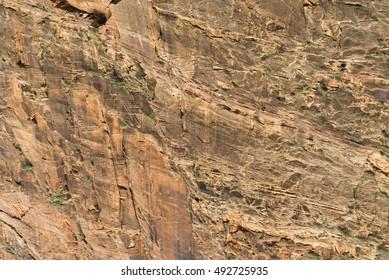 Warm Tone Canyon Texture