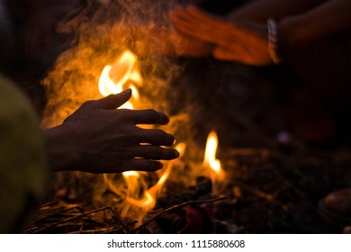 Warmth of Fire in Winter