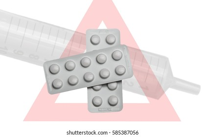 Warning against the use of medicin