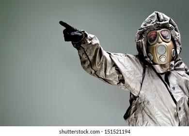 Warning Bio-hazard attack Syria