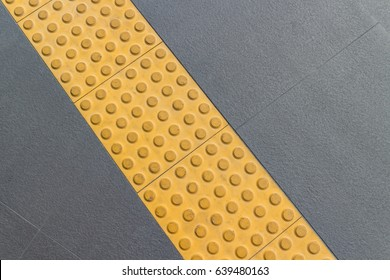 warning block, tactile, braille block for safety of the blind