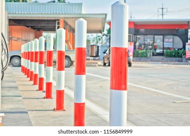 Gas Station Warning Sign Stock Photos, Images & Photography