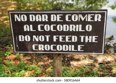 Warning sign, Guatemala