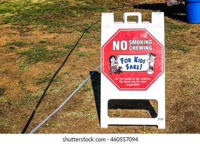 Warning Sign For Kids Sake Sign