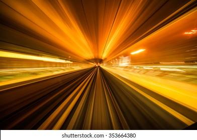 Warp Speed travel on Dubai Metro