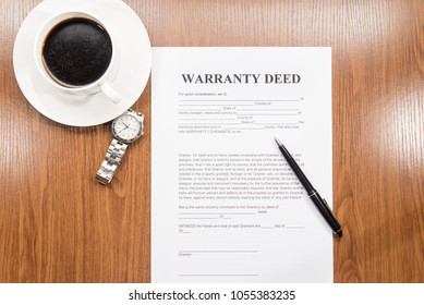 warranty deed document