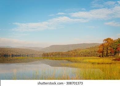 Warren lake in the fall (Cape Breton Highlands National Park, Canada)