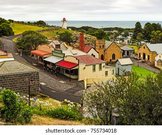 Warrnambool. Australian Pacific coast. The South West coast of Victoria