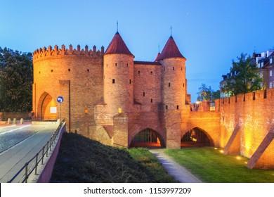 Warsaw Barbican - Poland