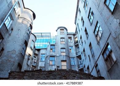 Warsaw ghetto building