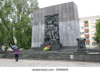 Warsaw Ghetto Memorial