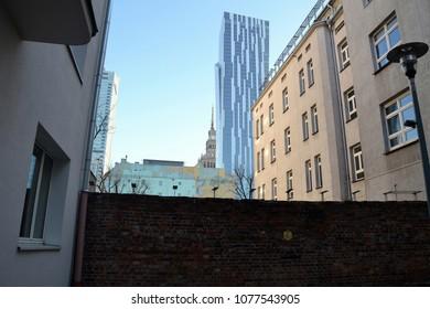 Warsaw Ghetto Wall, Poland