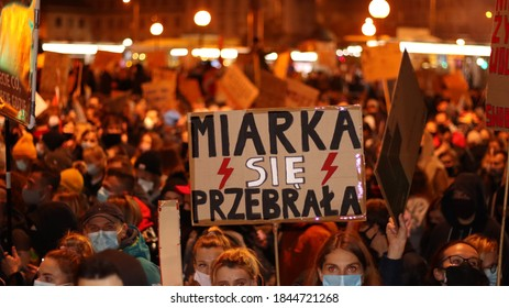 """""""Warsaw, Masovian, Poland - 29.01.2021: Strajk kobiet, w Warszawie, 29.01"""""""