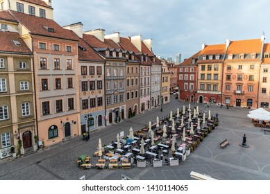 Warsaw, Mazovia Province / Poland - 05/06/2019. Warsaw's Old Town (Stare Miasto) is the historical center of Warsaw and the oldest part of town dating back to the 13th century.