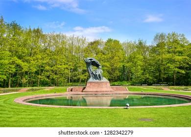 Warsaw Park at Poland