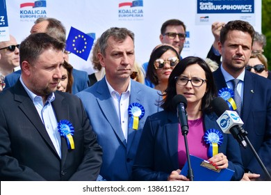 Warsaw, Poland. 1 May 2019. Opposition leaders European coalition.