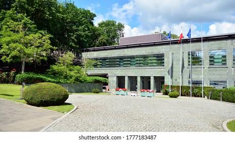 Warsaw, Poland. 12 July 2020. National Security Bureau building.