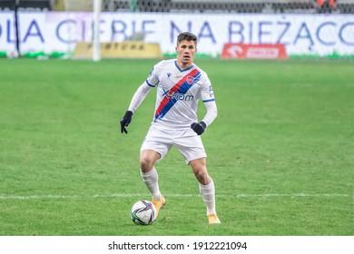 WARSAW, POLAND - 6 FEBRUARY, 2021: Legia Warszawa - Rakow Czestochowa, Top Polish PKO Ekstraklasa League, o.p: Petr Schwarz