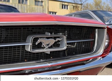 Ford Mustang Front Grill Images, Stock Photos & Vectors