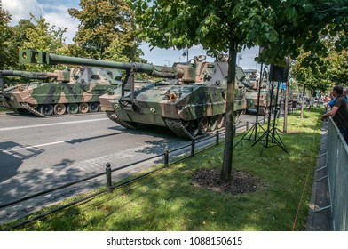 Warsaw, Poland, August 15, 2014; Parade of the Polish Armed Forces Day parade.
