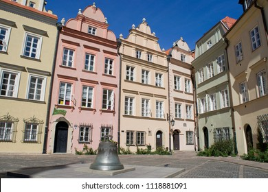 WARSAW, POLAND - CIRCA SEPTEMBER 2016: The Wishing Bell in a small square of the Old Town