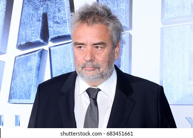 WARSAW, POLAND - JULY 22, 2017: DIRECTOR LUC BESSON DURING PREMIERE FILM 'VALERIAN'