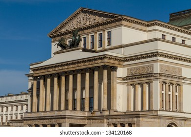 Warsaw, Poland - National Opera House and National Theatre building