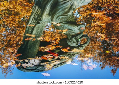 Warsaw, Poland - November 4, 2011: Polish composer and virtuoso pianist Frederic Chopin monument in Royal Baths Park in Warsaw, capital of Poland